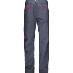 Norrøna M's Falketind Flex1 Pants Cool Black/Crimson Kick